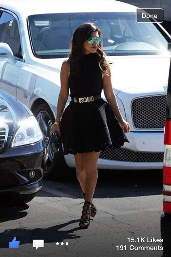 dress black dress moschino belt sunglasses shoes belt