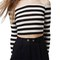 Topshop stripe off the shoulder top | nordstrom