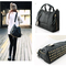 Black korean clutch messenger tote women's satchel pu leather shoulder bag new | ebay