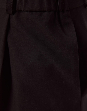 ASOS | Pantalones elegantes de pinzas con detalle de cintura fruncida de ASOS en ASOS