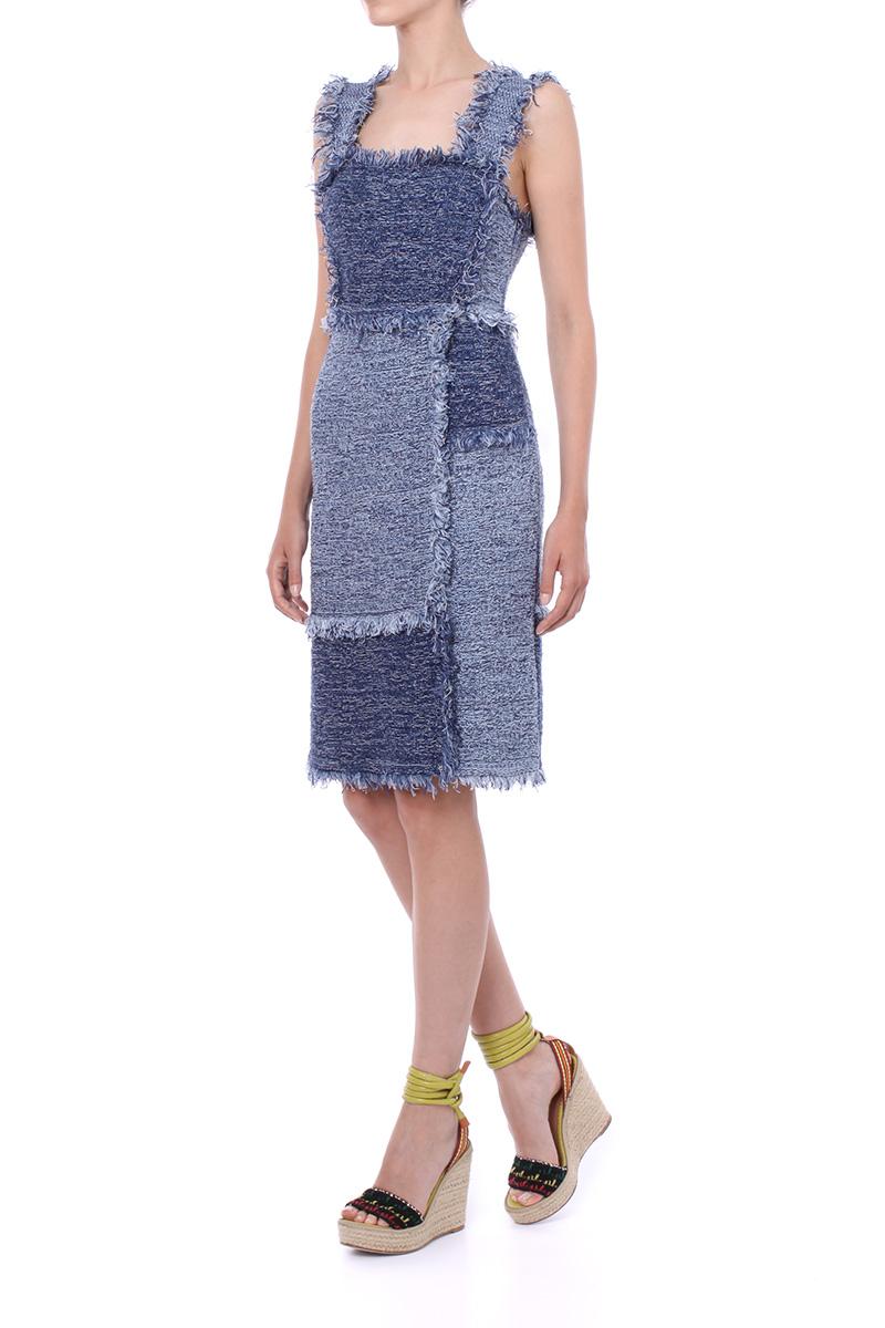 PATCHWORK DENIM DRESS | M Missoni