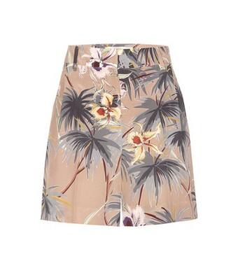 shorts silk