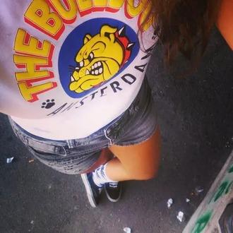 shirt dog amsterdam shorts