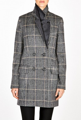 Vanessa Bruno | Prince Of Wales Check Wool Blazer by Vanessa Bruno