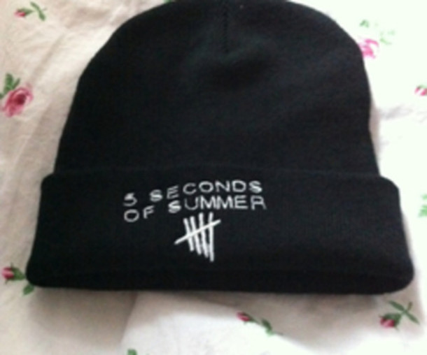 hat beanie 5 seconds of summer 5 seconds of summer