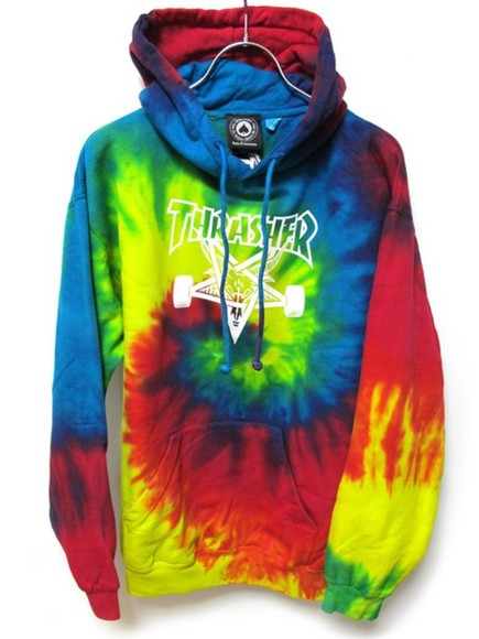 dye sweater awesome trasher skate