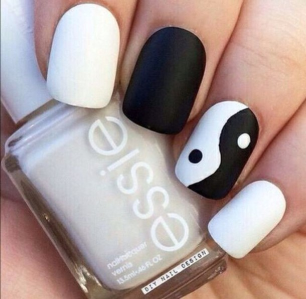 Nail Accessories, Nail Art, Yin Yang