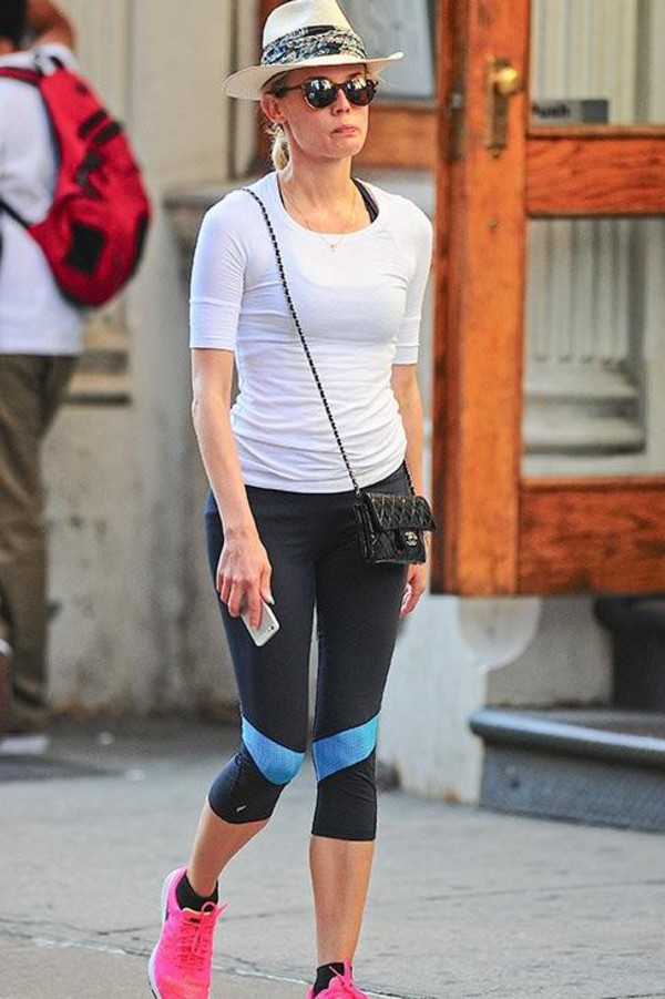 leggings diane kruger sportswear