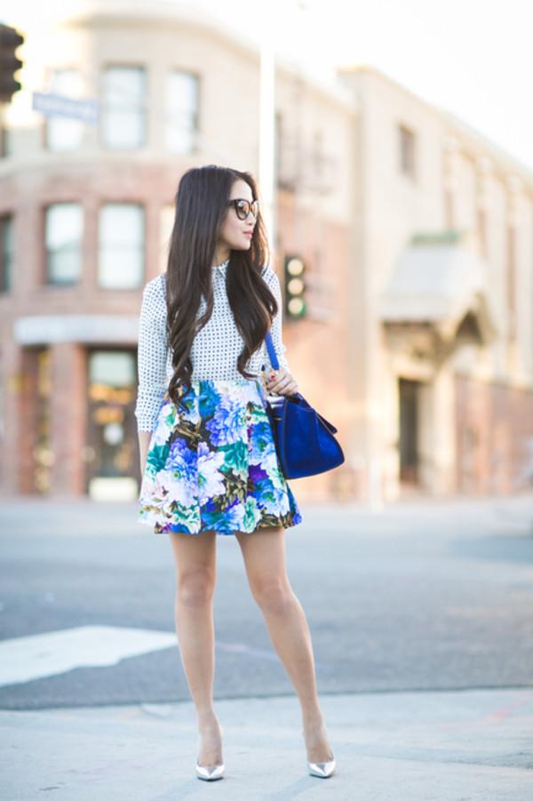 wendy's lookbook blogger top bag sunglasses jewels shoes