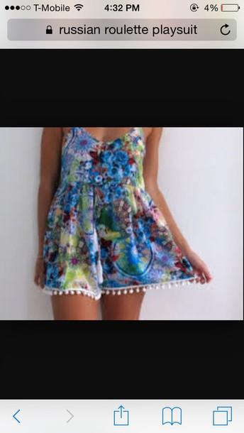jumpsuit blue dress coloful fabric fashion design patterned dress romper dress skirt swimwear blouse