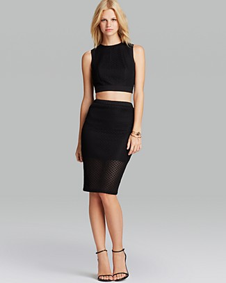 Lucy Paris Top & Skirt | Bloomingdale's