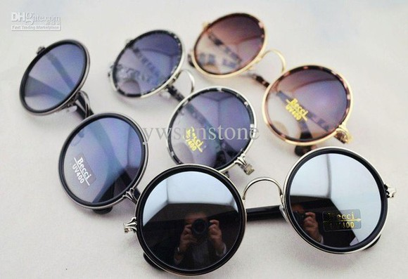 sunglasses round sunglasses vintage