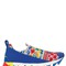 30mm printed neoprene & suede sneakers