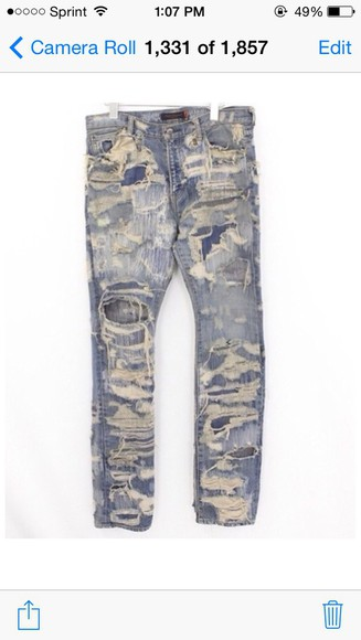 for men jeans for guy ripped jeans