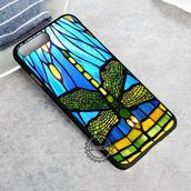 top,dragonfly,stained glass,iphone case,phone cover,iphone x case,iphone 8 case,iphone7case,iphone7,iphone 6 case,iphone6,iphone 5 case,iphone 4 case,iphone4case