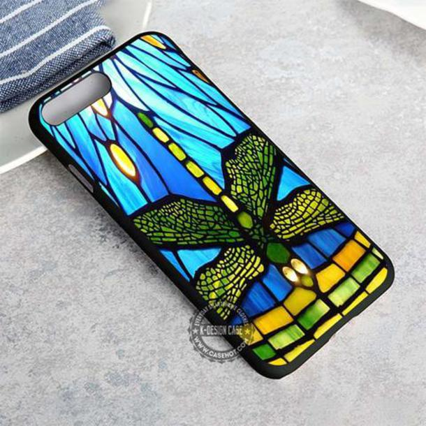 top dragonfly stained glass iphone case phone cover phone cover iphone x case iphone 8 case iphone7case iphone7 iphone 6 case iphone6 iphone 5 case iphone 5 case iphone 4 case iphone4case