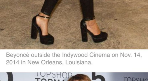 shoes beyonce heels