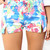 Multi Shorts - Multi Color Printed High Waisted | UsTrendy