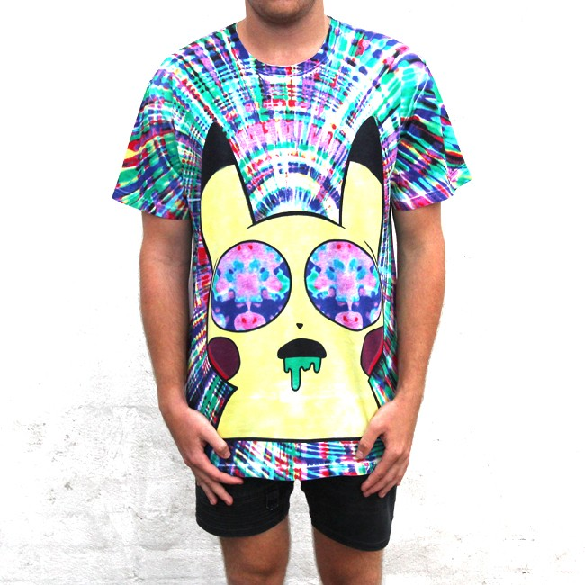 Pikachu trippin
