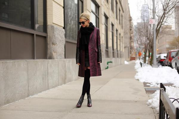 atlantic pacific coat dress scarf shoes