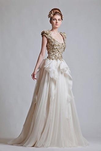 dress tan dress long prom dress