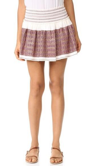 miniskirt beach white skirt