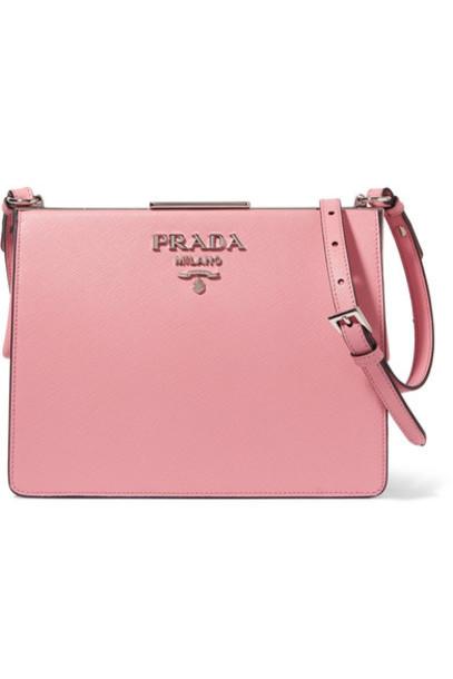 Prada baby bag shoulder bag leather pink baby pink