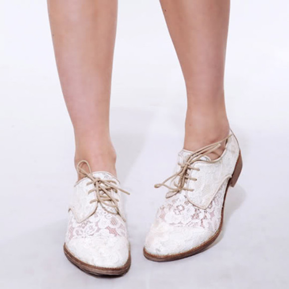 shoes oxfords white lace cute white oxfords womens shoes lace up