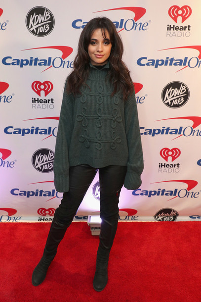 sweater winter sweater camila cabello boots
