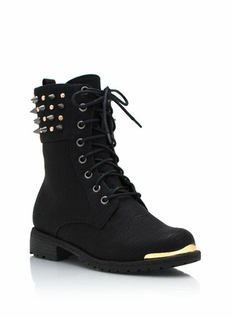 shoes pastel goth goth shoes goth spikes spiked shoes combat boots black combat boots