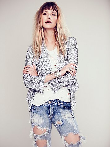 Cleobella  Lana Beaded Jacket at Free People Clothing Boutique