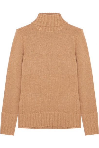 J.Crew sweater turtleneck turtleneck sweater camel