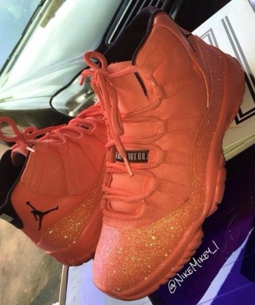 size 40 d41c3 86c04 shoes pink sparkle jordan custom shoes