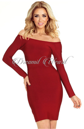 dress,dream it wear it,clothes,red,red dress,burgundy,burgundy dress,long sleeves,long sleeve dress,bodycon,bodycon dress,off the shoulder,off the shoulder dress,party dress,sexy party dresses,sexy,sexy dress,party outfits,classy dress,elegant dress,cocktail dress,cute dress,girly dress,date outfit,birthday dress,holiday dress,holiday season,christmas dress,christmas,clubwear,club dress,graduation dress,homecoming,homecoming dress,wedding clothes,wedding guest,engagement party dress,romantic dress,new year's eve,new year dresses