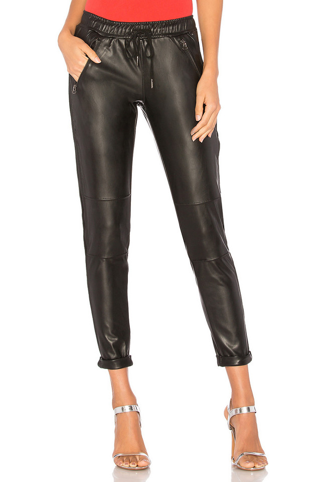 David Lerner Track Pant in black