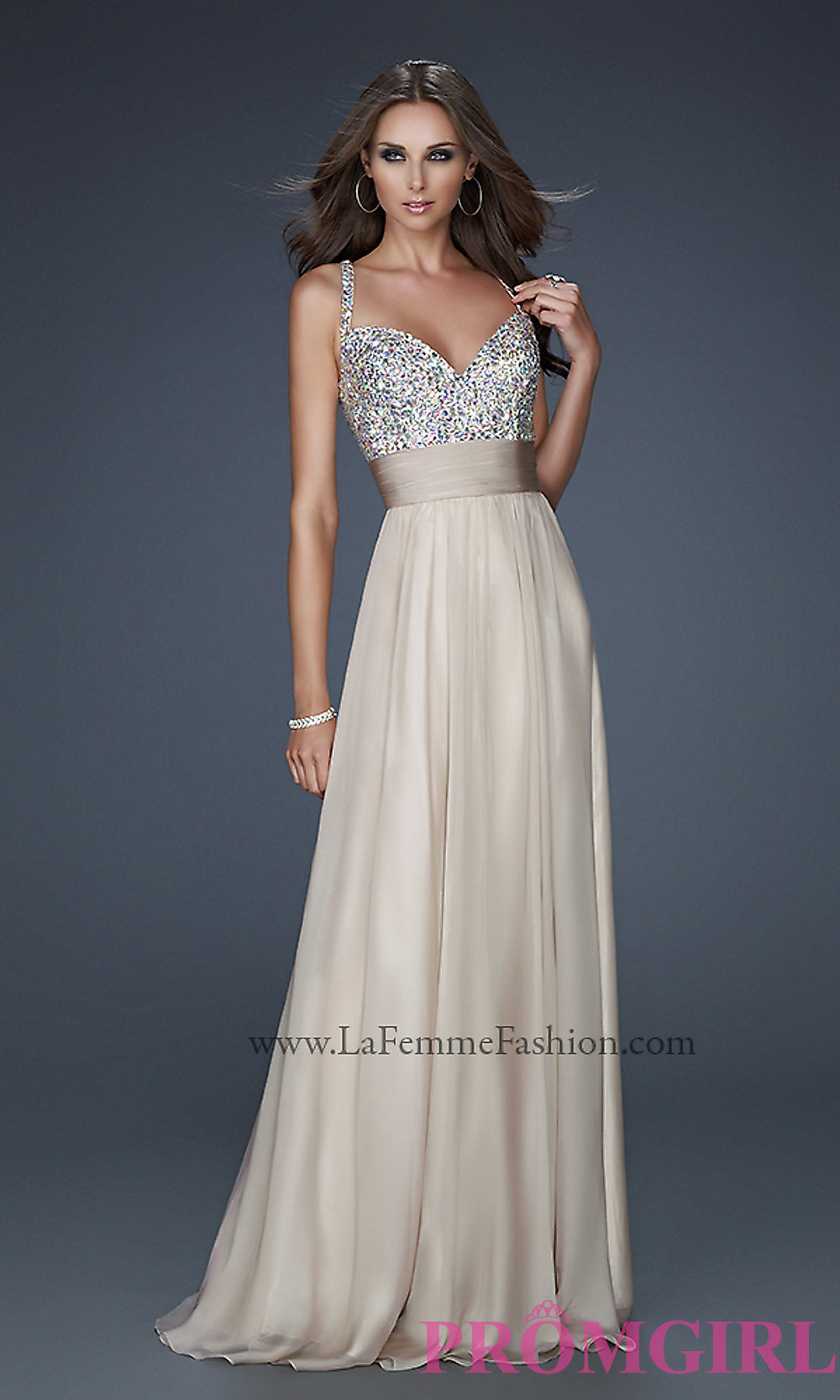 Gorgeous La Femme Prom Dress