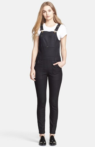 jumpsuit denim overalls jeans