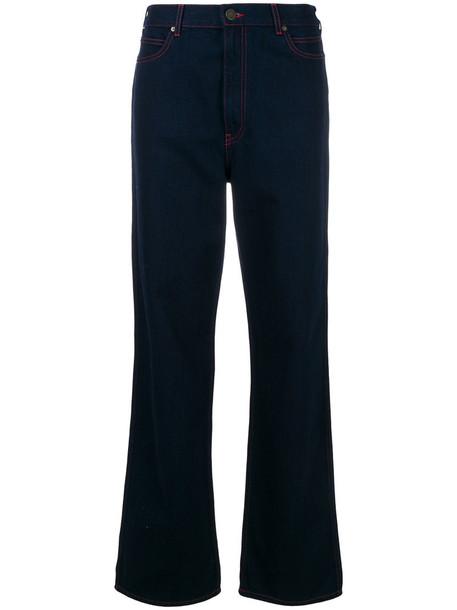 CALVIN KLEIN 205W39NYC jeans women cotton blue