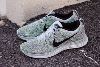shoes nike shoes nike flyknit white beautiful cute sports shoes sportswear nike running shoes women mens shoes good girl bad habits lifestyle shoes nikes tribal print shoes black grunge flat colourful colour chukka flyknit racer flyknit trainer sneakers nike air max neon pink
