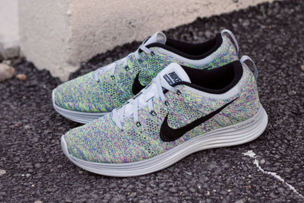 shoes nike shoes nike flyknit white beautiful cute sports shoes sportswear nike  running shoes women mens
