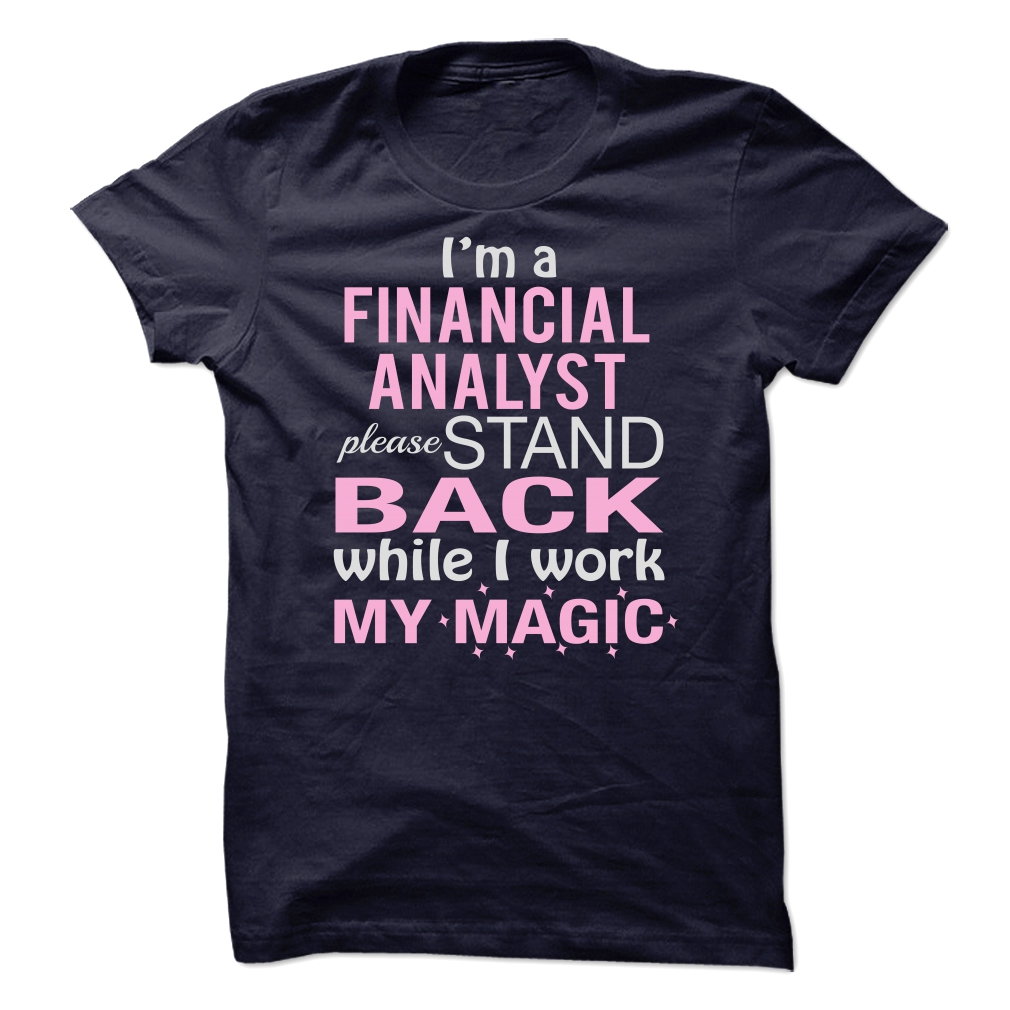 Awesome Financial Analyst T-Shirt & Hoodie