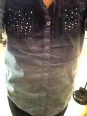 t-shirt,ombre top,Mya