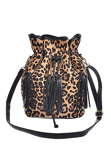 black leopard print bag FALL FASHION