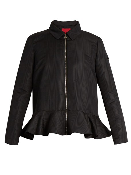 Moncler Gamme Rouge jacket zip black