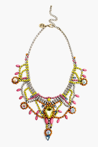 Showtime Collar Necklace in  Accessories at Nasty Gal