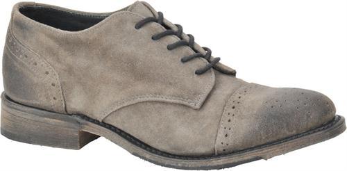 Josie in Grey Suede - Vintage Women's Dress Shoes on Shoeline.com
