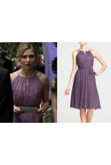 purple purple dress faking it bridal mid dress knee length dress lavender lavender dress lavender prom dresses