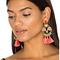Elizabeth cole tassel earrings in tropical from revolve.com