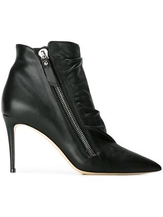 boots blue shoes