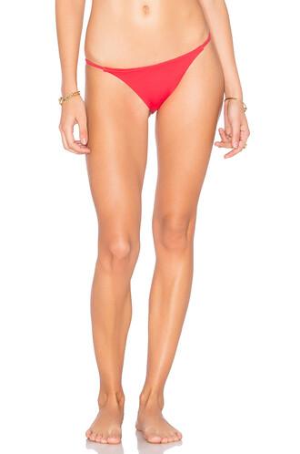 bikini coral swimwear